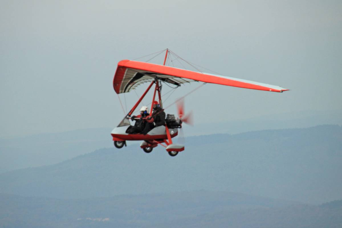 Trike Air Creation im Flug