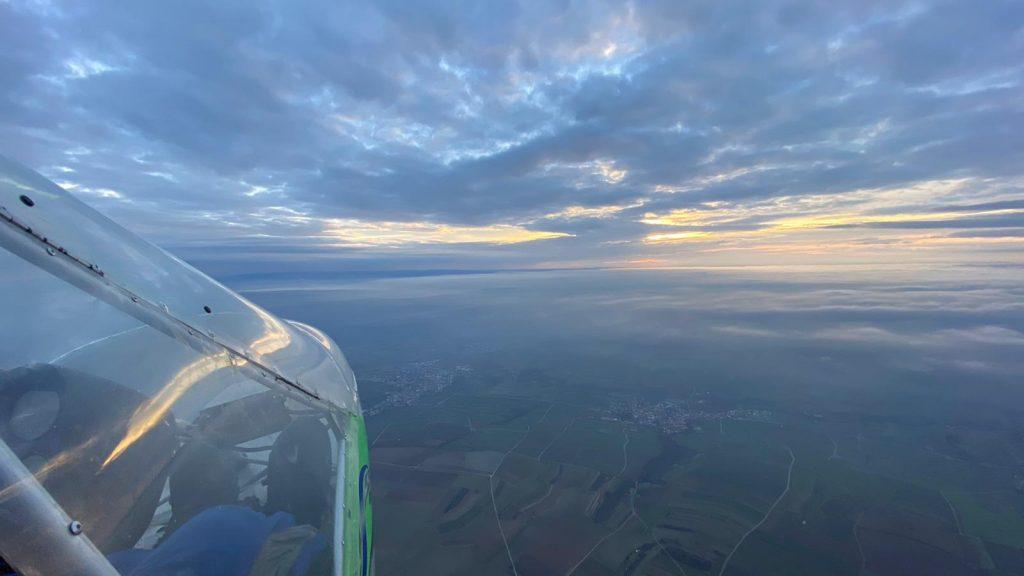 Fliegen mit dem Ultraleichtflugzeug